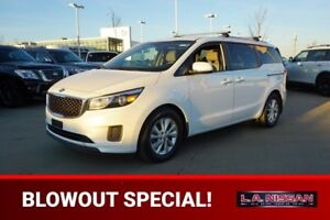 2016 Kia Sedona LX PLUS 8 SEATS Accident Free,  Heated Seats,  B