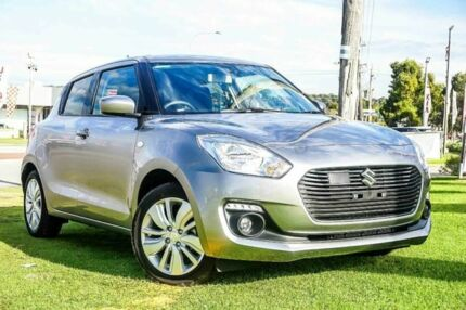 2018 Suzuki Swift AL GL Navigator Premium Silver Continuous Variable Hatchback Wangara Wanneroo Area Preview