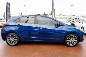 2015 Hyundai i30 GD4 Series II MY16 SR Blue 6 Speed Sports Automatic Hatchback Westminster Stirling Area Preview