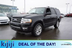 2017 Ford Expedition 4X4 LIMITED Accident Free,  Navigation (GPS