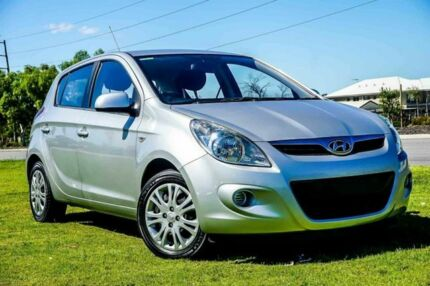 2011 Hyundai i20 PB MY12 Active Silver 4 Speed Automatic Hatchback Wangara Wanneroo Area Preview