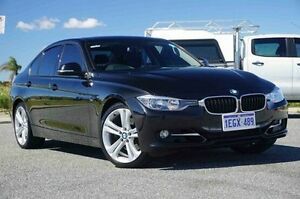 2012 BMW 328I F30 Black 8 Speed Sports Automatic Sedan Wangara Wanneroo Area Preview
