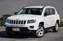 2013 Jeep Compass MK MY13 Sport White 5 Speed Manual Wagon Main Beach Gold Coast City Preview