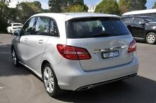 2015 Mercedes-Benz B200  Silver Sports Automatic Dual Clutch Hatchback Burwood Whitehorse Area Preview