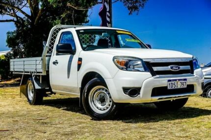 2011 Ford Ranger PK XL 4x2 White 5 Speed Manual Cab Chassis Wangara Wanneroo Area Preview