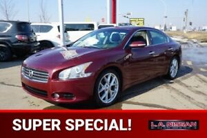 2009 Nissan Maxima SPORT Accident Free,  Leather,  Heated Seats,