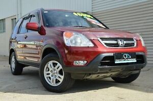 2002 Honda CR-V RD MY2002 4WD Red 4 Speed Automatic Wagon Ashmore Gold Coast City Preview