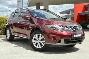 2012 Nissan Murano Z51 MY12 ST Burgundy Continuous Variable Wagon South Maitland Maitland Area Preview