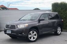 2010 Toyota Kluger GSU45R Grande AWD Grey 5 Speed Sports Automatic Wagon South Launceston Launceston Area Preview