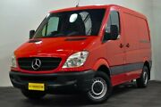 2010 Mercedes-Benz Sprinter NCV3 MY10 313CDI Low Roof SWB Red 5 Speed Automatic Van Edgewater Joondalup Area Preview