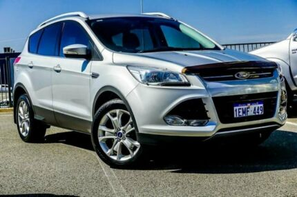 2013 Ford Kuga TF Trend (AWD) Silver 6 Speed Automatic Wagon Wangara Wanneroo Area Preview