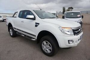 2014 Ford Ranger PX XLT Super Cab White 6 Speed Sports Automatic Utility Pearsall Wanneroo Area Preview