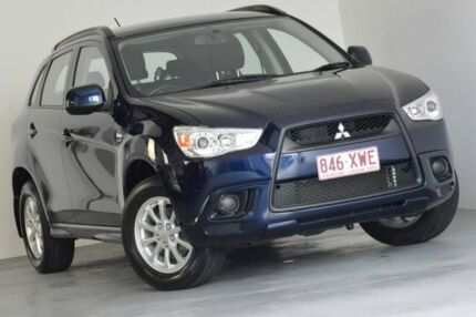 2012 Mitsubishi ASX XA MY12 2WD Blue 6 Speed Constant Variable Wagon Springwood Logan Area Preview