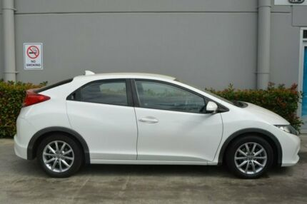 2013 Honda Civic 9th Gen MY13 VTi-S White 5 Speed Sports Automatic Hatchback Maitland Maitland Area Preview