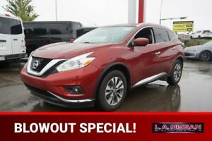 2016 Nissan Murano SL ALL WHEEL DRIVE Navigation (GPS),  Leather
