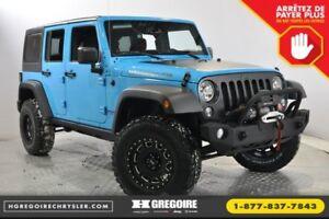 2017 Jeep Wrangler Unlimited Big Bear 4x4 A/C BLUETOOTH 3.73 GEA