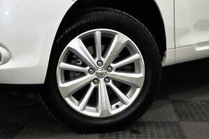 2010 Toyota Kluger GSU40R Altitude 2WD White 5 Speed Sports Automatic Wagon