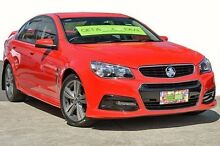2014 Holden Commodore VF MY14 SV6 Red 6 Speed Sports Automatic Sedan Coolangatta Gold Coast South Preview