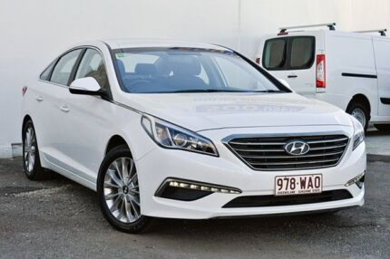 2015 Hyundai Sonata LF Active White 6 Speed Sports Automatic Sedan Tweed Heads South Tweed Heads Area Preview