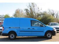 VOLKSWAGEN CADDY MAXI 1.6 C20 TDI 1D 101 BHP DIESEL 2011 61 BLUE