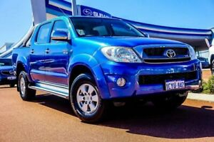 2008 Toyota Hilux GGN25R MY09 SR Blue 5 Speed Automatic Utility