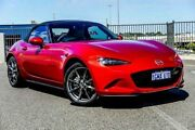 2016 Mazda MX-5 ND GT SKYACTIV-MT Red Manual Roadster Wangara Wanneroo Area Preview