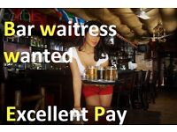 Bar waitress Bar Manager - Lets speak!!!