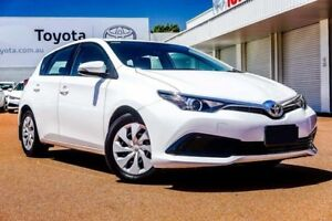 2017 Toyota Corolla ZRE182R Ascent S-CVT Glacier White 7 Speed Constant Variable Hatchback Balcatta Stirling Area Preview
