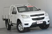 2012 Holden Colorado RG MY13 DX 4x2 White 5 Speed Manual Cab Chassis Albion Brisbane North East Preview