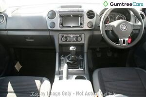 2012 Volkswagen Amarok 2H MY12 TDI400 4Mot Highline White 6 Speed Manual Utility