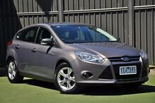 2011 Ford Focus LW Trend PwrShift Grey 6 Speed Sports Automatic Dual Clutch Hatchback Knoxfield Knox Area Preview