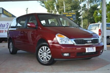 2011 Kia Carnival VQ MY11 S Burgundy 4 Speed Automatic Wagon Newcastle 2300 Newcastle Area Preview