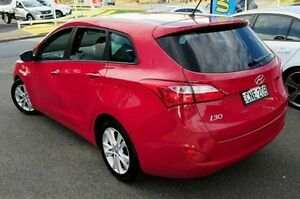 2012 Hyundai i30 GD Active Tourer Red 6 Speed Sports Automatic Wagon Gosford Gosford Area Preview