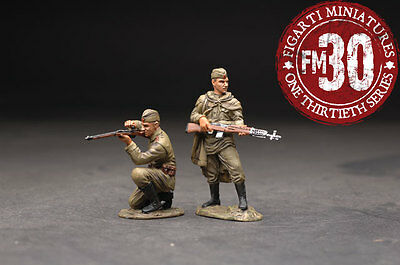 FIGARTI MINIATURES WW2 RUSSIAN EFR-018 TWO RUSSIAN SOLDIERS UNDER FIRE MIB