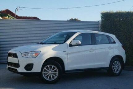 2013 Mitsubishi ASX XB MY13 2WD White 6 Speed Constant Variable Wagon South Launceston Launceston Area Preview