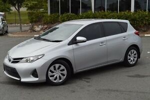2014 Toyota Corolla ZRE182R Ascent S-CVT Silver 7 Speed Constant Variable Hatchback Highland Park Gold Coast City Preview