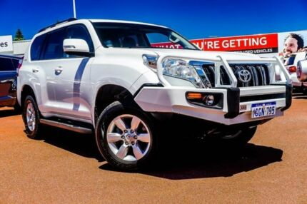 2017 Toyota Landcruiser Prado GDJ150R GXL White 6 Speed Sports Automatic Wagon Balcatta Stirling Area Preview