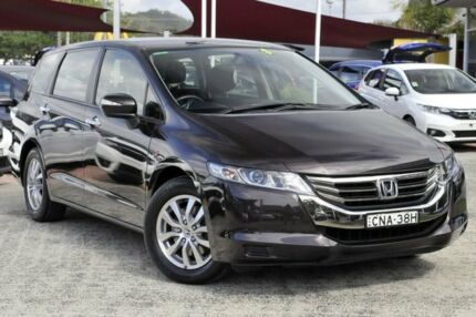 2012 Honda Odyssey 4th Gen MY12 Dark Brown 5 Speed Sports Automatic Wagon