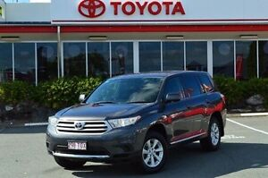 2013 Toyota Kluger Grey Sports Automatic Wagon Highland Park Gold Coast City Preview