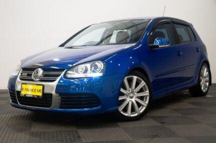 2009 Volkswagen Golf V MY09 R32 DSG 4MOTION Blue 6 Speed Sports Automatic Dual Clutch Hatchback