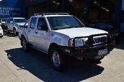 2004 Nissan Navara D22 ST-R (4x4) White 5 Speed Manual Dual Cab Pick-up Tottenham Maribyrnong Area Preview