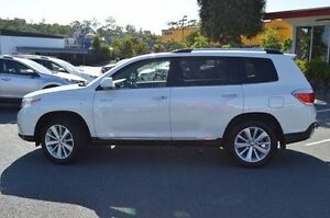 2012 Toyota Kluger White Sports Automatic Wagon Highland Park Gold Coast City Preview