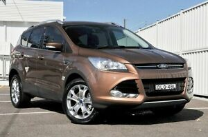 2014 Ford Kuga TF Trend PwrShift AWD Bronze 6 Speed Sports Automatic Dual Clutch Wagon Gosford Gosford Area Preview