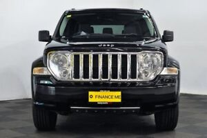 2009 Jeep Grand Cherokee WH MY2008 Limited Black 5 Speed Automatic Wagon