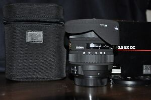 Sigma 10-20mm 4-5.6 / Canon Mount