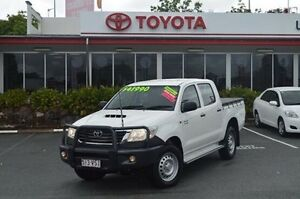 2015 Toyota Hilux White Manual Utility Highland Park Gold Coast City Preview