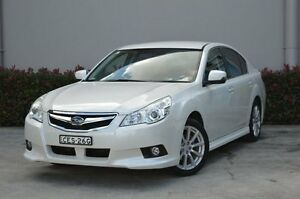 2012 Subaru Liberty B5 MY12 2.5i Lineartronic AWD Satin White 6 Speed Constant Variable Sedan South Maitland Maitland Area Preview