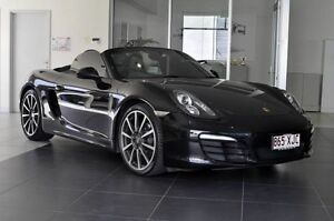 2013 Porsche Boxster 981 Black 6 Speed Manual Convertible Southport Gold Coast City Preview