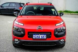 2017 Citroen C4 Cactus E3 MY18 Exclusive Red 5 Speed Manual Wagon