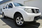 2010 Nissan Navara D40 RX 4x2 White 6 Speed Manual Utility Ashmore Gold Coast City Preview